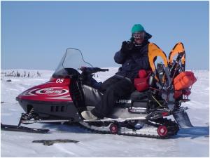 Jean-Charles Fortin DG fondation pointe-des-pieds, ancien guide motoneige